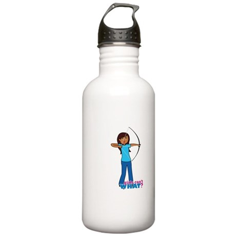 Archery Girl Stainless Water Bottle 1.0L