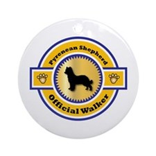 Shepherd Walker Ornament (Round)