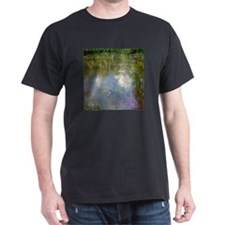 Monet Waterlillies And Clouds T-Shirt