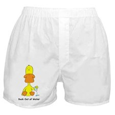Duck_water_todds Boxer Shorts