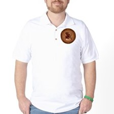 BE Yoga Brown T-Shirt