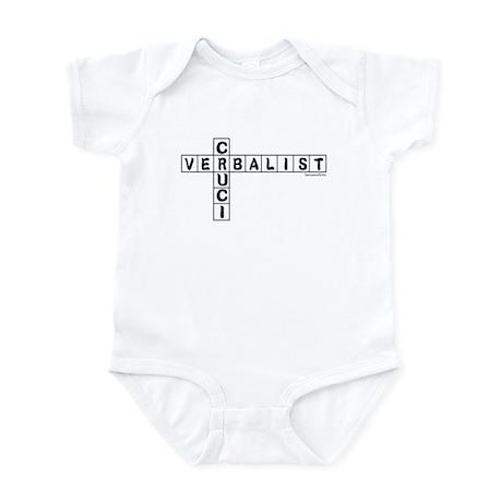 Cruciverbalist Infant Bodysuit