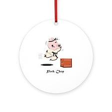porkchop_todds Round Ornament