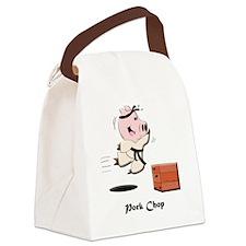 porkchop_todds Canvas Lunch Bag