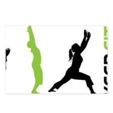 Keep Fit Postcards (Package of 8)