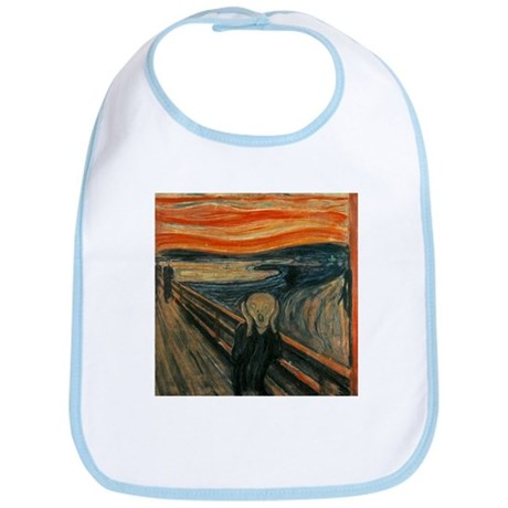 Munch The Scream Bib