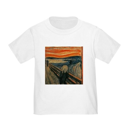 Munch The Scream Toddler T-Shirt