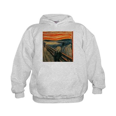 Munch The Scream Kids Hoodie