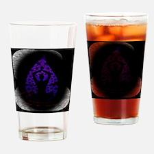 BE Meditative Drinking Glass