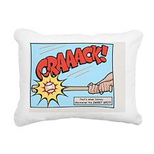 baseball-pow-CRD Rectangular Canvas Pillow