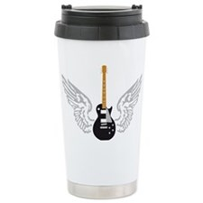 e-guitar player wings Travel Mug