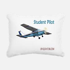 Student Pilot Rectangular Canvas Pillow