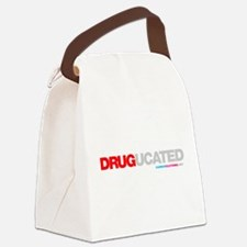 Drugucated Canvas Lunch Bag