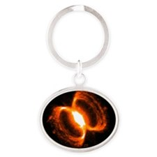tshirtsoutherncrabnebula Oval Keychain