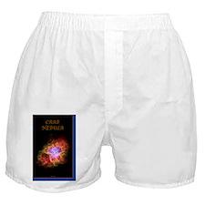 miniposterprintcrabnebulab Boxer Shorts