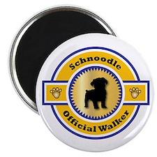 Schnoodle Walker Magnet