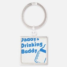 Daddy's Drinking Buddy Square Keychain