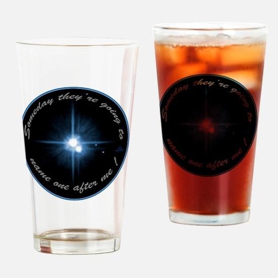 blktplutonameoneafterme Drinking Glass