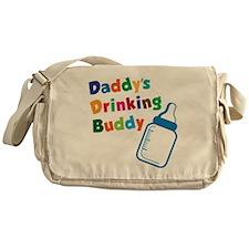 Daddy's Drinking Buddy Messenger Bag