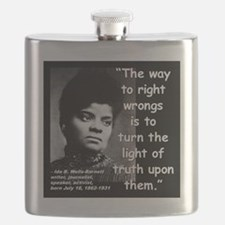 Wells Truth Quote 2 Flask