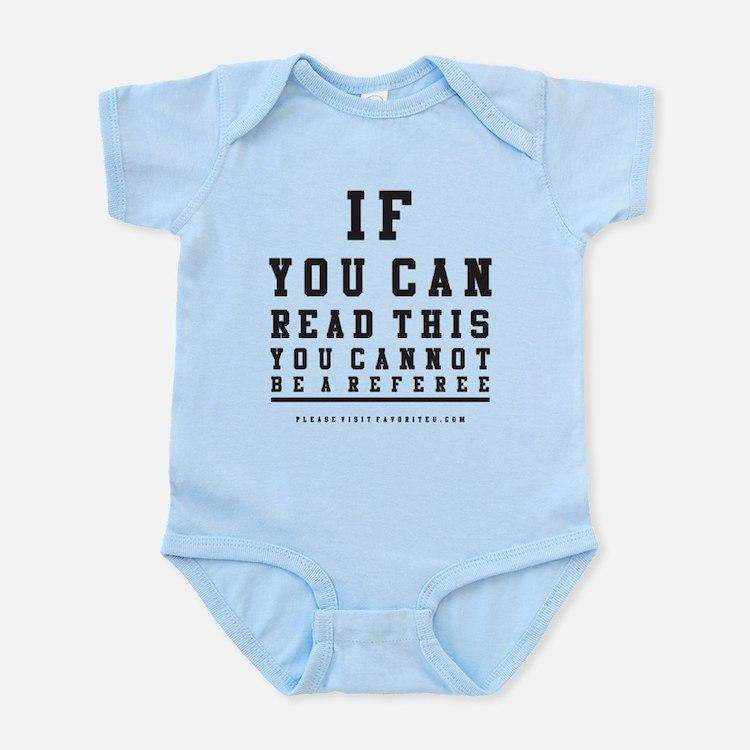 Blind Referee Infant Bodysuit