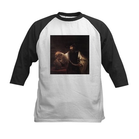Rembrandt Aristotle and Bust Kids Baseball Jersey