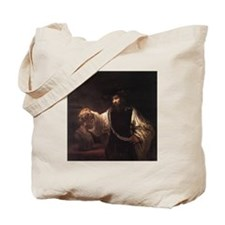 Rembrandt Aristotle and Bust  Tote Bag