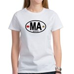 Morocco Euro-style Country Code Women's T-Shirt