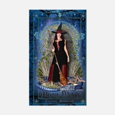Moon Witch Decal