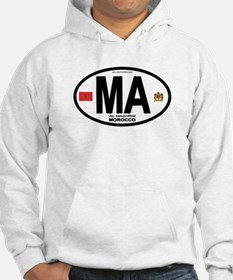 Morocco Euro-style Country Code Hoodie