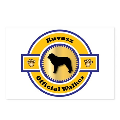 Kuvasz Walker Postcards (Package of 8)