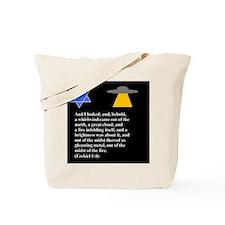 Ezekiel 1:4 Judaism Tote Bag