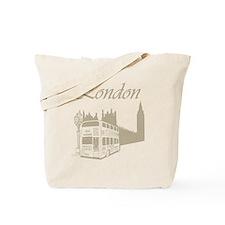 Retro London Tote Bag