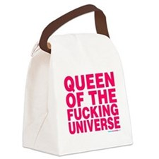Cute Universe Canvas Lunch Bag