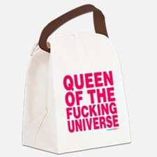 Funny Queen Canvas Lunch Bag
