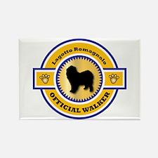 Lagotto Walker Rectangle Magnet (100 pack)