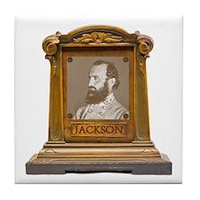 Stonewall Jackson Antique Memorial Tile Coaster