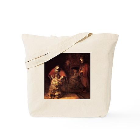 Rembrandt Return Of The Prodi Tote Bag