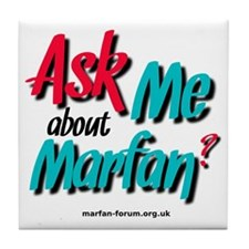 AskMe about Marfan? Tile Coaster
