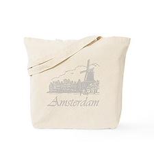 Vintage Amsterdam Tote Bag