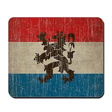 Vintage Netherlands Flag Mousepad
