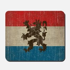 Vintage Netherlands Flag Mousepad
