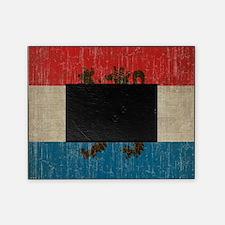 Vintage Netherlands Flag Picture Frame