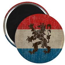 Vintage Netherlands Flag Magnet