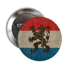 """Vintage Netherlands Flag 2.25"""" Button"""