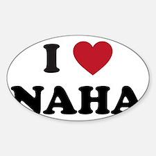 I Love Naha Decal