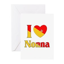 I Love Nonna Greeting Cards (Pk of 10)