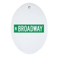 Broadway, Chicago (US) Oval Ornament