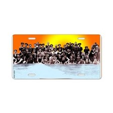 Swimmers-1890 Aluminum License Plate