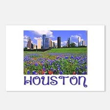 Houston Bluebonnets Postcards (Package of 8)